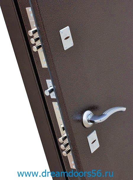 Входная металлическая дверь Гарда 7,5 металл/металл